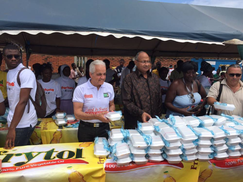 """Food Banking Regional Network participates in """"Food for All Ghana"""" on the World's Food Day 16-10-2016"""